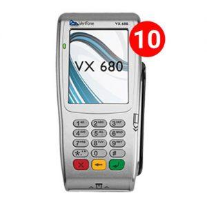 بسته 10 عددی کارتخوان سیار وریفون Verifone Vx680